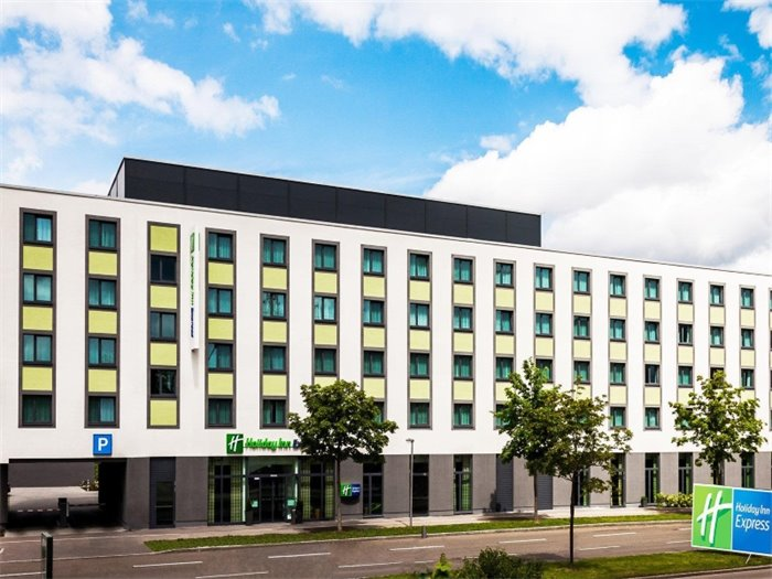 Holiday Inn Express Augsburg - Hotelansicht