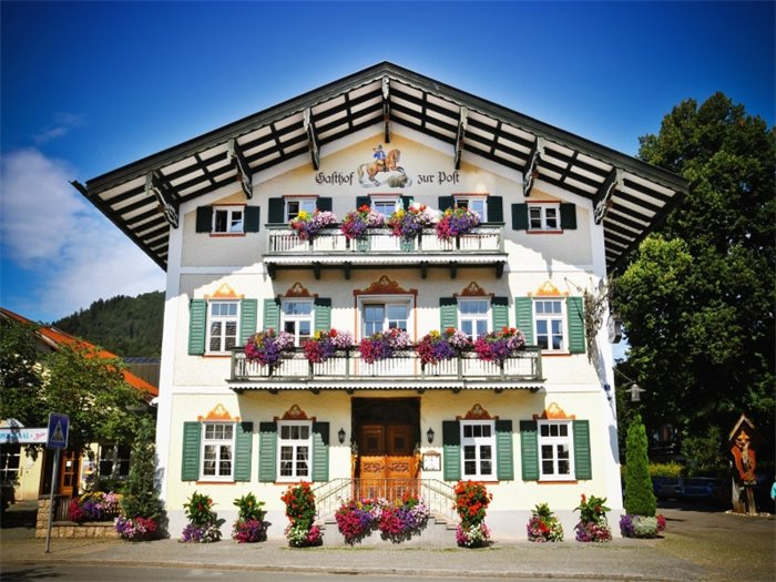 Hotel zur Post Bad Wiessee - Hotelansicht